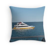 Townsville Ferry Boat heading in!   Far North Queensland. Throw Pillow