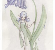 Flower Fairy - Blue Belle  by LilyM