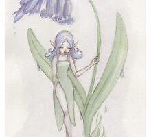 Flower Fairy - Blue Belle  by LilyM