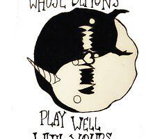 Personal Demons in Love by petitehero