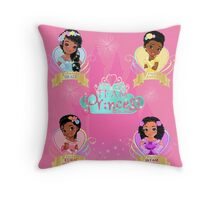 Team Princess Collection Throw Pillow