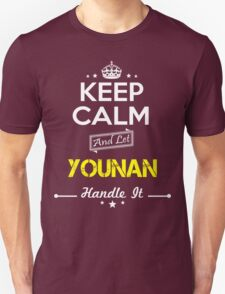 YOUNAN KEEP CLAM AND LET  HANDLE IT - T Shirt, Hoodie, Hoodies, Year, Birthday T-Shirt