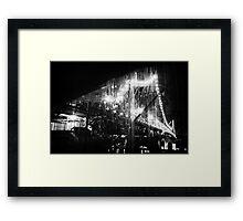A Noir Story Framed Print
