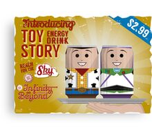 Toy Story Soda Cans Canvas Print