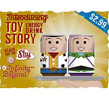 Toy Story Soda Cans Photographic Print
