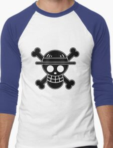 Luffy - OP Pirate Flags Men's Baseball ¾ T-Shirt