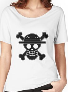 Luffy - OP Pirate Flags Women's Relaxed Fit T-Shirt