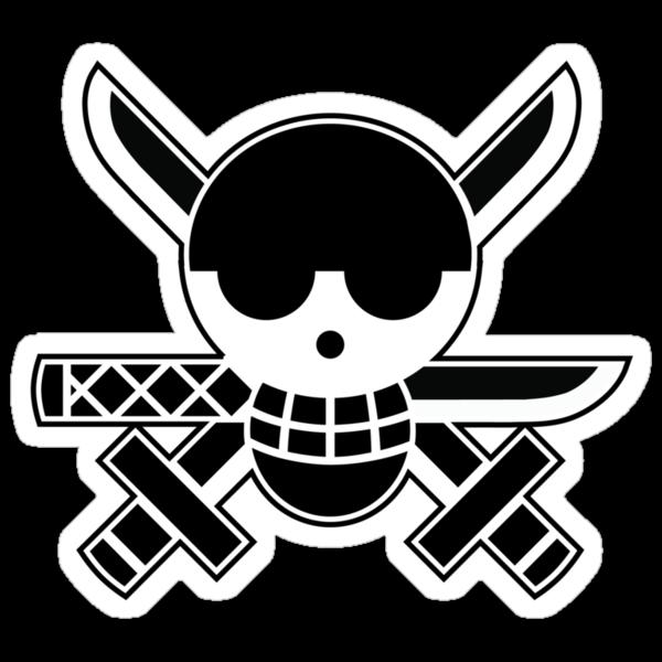 Zoro - OP Pirate Flags by Natasha Curran
