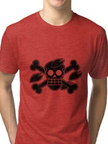 Chopper - OP Pirate Flags Tri-blend T-Shirt