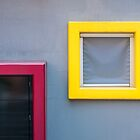 Red Door - Yellow Window by Robert Dettman