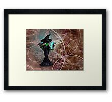 Wicked Witch Framed Print