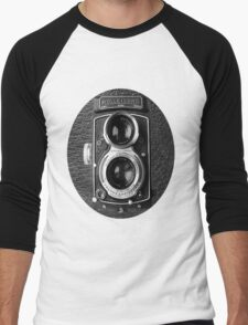 ❀◕‿◕❀ROLLEICORD CAMERA UNISEX TEE SHIRT❀◕‿◕❀ Men's Baseball ¾ T-Shirt