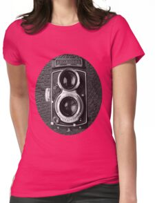 ❀◕‿◕❀ROLLEICORD CAMERA UNISEX TEE SHIRT❀◕‿◕❀ Womens Fitted T-Shirt