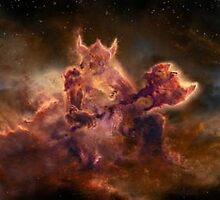 Skyrim Constellation by SinistarLives