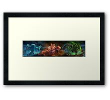 Skyrim Constellation Framed Print