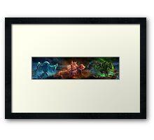 Skyrim Constellation Framed Print