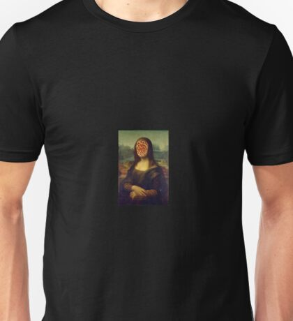 Mona pizza Unisex T-Shirt