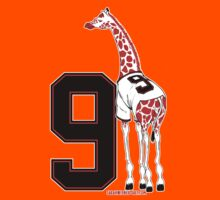 Belt Giraffe (Number Version) by swiener