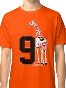 Belt Giraffe (Number Version) Classic T-Shirt