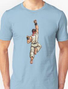 Ryu Shoryuken Street Fighter pixel T-Shirt