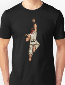 Ryu Shoryuken Street Fighter pixel T-Shirt