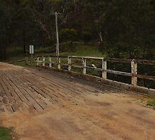 Bridge at Steiglitz, Brisbane Ranges National Park, Victoria by brendanscully