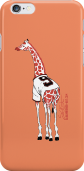 Belt Giraffe (Orange/iPhone 4/s) by swiener