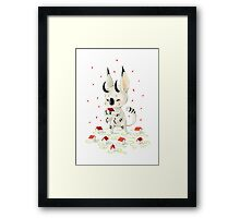 Little Monster Framed Print