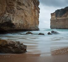 Loch Ard Gorge - Playing Catch by Anja Fuechtbauer