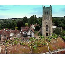 Church and Guildhall Photographic Print