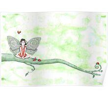 Ladybug Fairy Poster