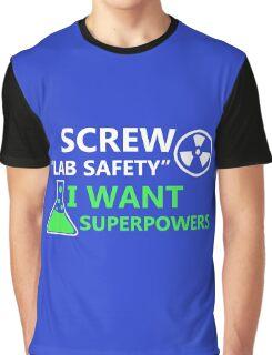 Screw Lab Safety Graphic T-Shirt