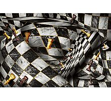 Hobby - Chess - Your move Photographic Print
