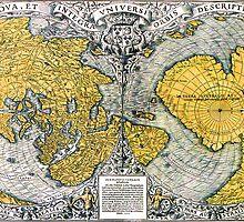 World Map 1531 by VintageLevel