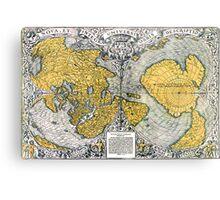 World Map 1531 Metal Print