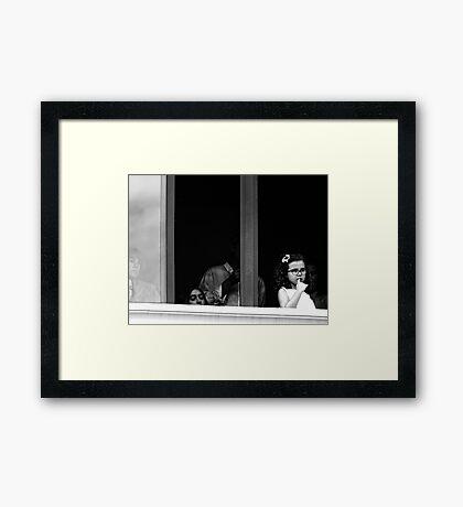In the Frame Framed Print