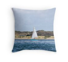 Toy Boat Throw Pillow