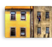 Bringing in the Washing Canvas Print