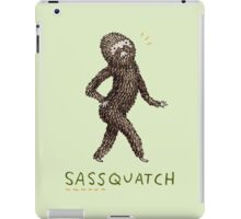 Sassquatch iPad Case/Skin