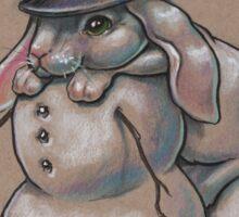 Snow Bunny Shenanigans Sticker