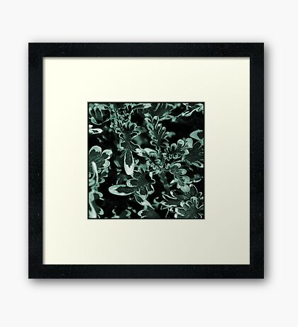 multi-colored foliage Framed Print