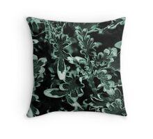 multi-colored foliage Throw Pillow