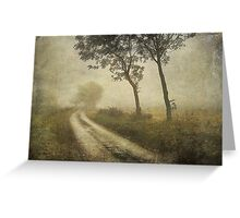 Journey to nowhere Greeting Card