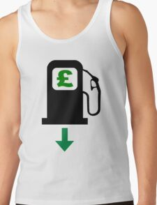 Petrol Prices Fall in the UK Tank Top