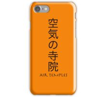 Avatar: The Last Airbender - Air Temples iPhone Case/Skin
