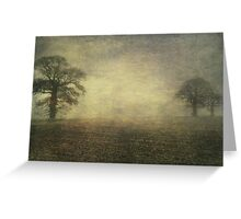 Across the fields Greeting Card