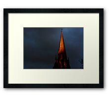 The Spire Framed Print