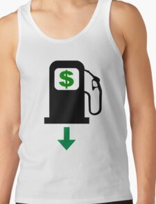 Gas Prices Fall in the United States Tank Top