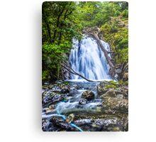 Waterfall At Cadair Idris Metal Print