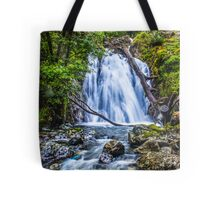 Waterfall At Cadair Idris Tote Bag